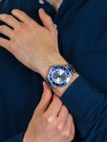 Zegarek srebrny klasyczny Invicta Pro Diver 21569 bransoleta - duże 5