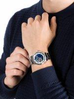 Zegarek srebrny klasyczny Invicta Pro Diver 22079 bransoleta - duże 5