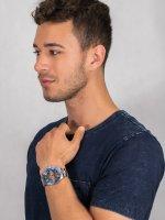 Zegarek srebrny klasyczny Invicta Pro Diver 24693 bransoleta - duże 4