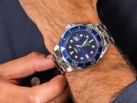 Zegarek srebrny klasyczny Invicta Pro Diver 3045 bransoleta - duże 6