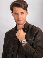 Zegarek srebrny klasyczny Invicta Specialty 23533 pasek - duże 4