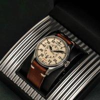 Zegarek srebrny klasyczny Iron Annie Flight Control IA-5156-5 pasek - duże 7