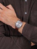 Jacques Lemans 1-1859B męski zegarek Classic pasek