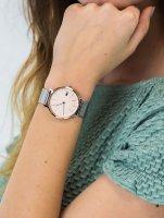 Zegarek srebrny klasyczny Lacoste Damskie 2001072 bransoleta - duże 5