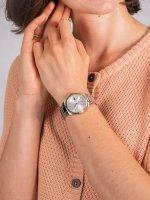 Zegarek srebrny klasyczny Lacoste Damskie 2001082 bransoleta - duże 5