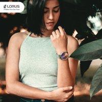 Zegarek srebrny klasyczny Lorus Fashion RG211RX9 bransoleta - duże 7