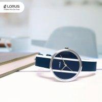 Zegarek srebrny klasyczny Lorus Fashion RG225RX9 pasek - duże 7