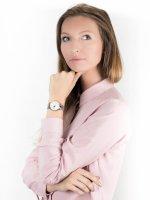 Zegarek srebrny klasyczny Lorus Klasyczne RG221QX9 bransoleta - duże 4