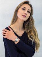 Zegarek srebrny klasyczny Lorus Klasyczne RG227NX9 bransoleta - duże 4