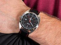 Zegarek srebrny klasyczny Lorus Klasyczne RH949KX8 pasek - duże 6