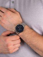 Zegarek srebrny klasyczny Lorus Klasyczne RM319FX9 bransoleta - duże 5