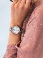 Zegarek srebrny klasyczny Michael Kors Sofie MK4458 bransoleta - duże 5