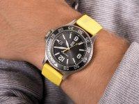 Zegarek srebrny klasyczny Nautica Nautica N-83 NAPCBS023 pasek - duże 6