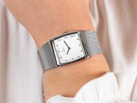 Zegarek srebrny klasyczny Obaku Denmark Bransoleta V102LCCMC bransoleta - duże 6
