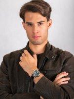 Zegarek srebrny klasyczny Orient Contemporary RA-AA0C06E19B pasek - duże 4