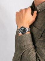 Zegarek srebrny klasyczny Orient Sports RA-AA0004E19B bransoleta - duże 5