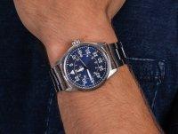 Zegarek srebrny klasyczny Orient Sports RA-AC0H01L10B bransoleta - duże 6