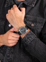 Zegarek srebrny klasyczny Orient Sports RA-AK0404B10B pasek - duże 5
