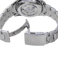 Zegarek srebrny klasyczny Orient Star Classic RE-HJ0001S00B bransoleta - duże 7