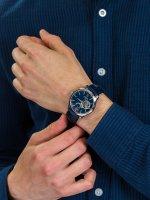 Zegarek srebrny klasyczny Orient Star Contemporary RE-AT0006L00B pasek - duże 5