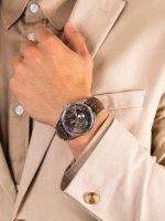 Zegarek srebrny klasyczny Orient Star Contemporary SDK05004K0 pasek - duże 5