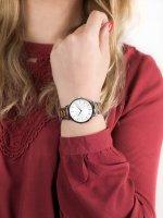 Zegarek srebrny klasyczny Rosefield Tribeca TWSSG-T63 bransoleta - duże 5