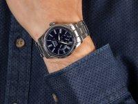 Zegarek srebrny klasyczny Seiko Presage SPB091J1 bransoleta - duże 6