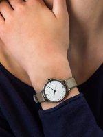 Zegarek srebrny klasyczny Skagen Anita SKW2648 pasek - duże 5
