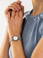 Zegarek srebrny klasyczny Skagen Hald SKW2441 bransoleta - duże 5