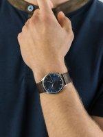 Zegarek srebrny klasyczny Skagen Holst SKW6237 pasek - duże 5