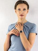 Zegarek srebrny klasyczny Skagen Signatur SKW2759 bransoleta - duże 4