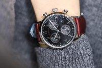 Zegarek srebrny klasyczny Ted Baker pasek BKPCSF901 pasek - duże 7