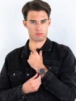 Zegarek srebrny klasyczny Timex Waterbury TW2P95800 pasek - duże 4