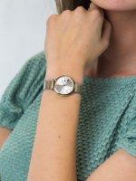 Zegarek srebrny klasyczny Tommy Hilfiger Damskie 1782055 bransoleta - duże 5