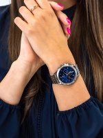 Zegarek srebrny klasyczny Tommy Hilfiger Damskie 1782141 bransoleta - duże 5