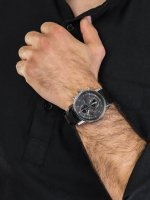 Zegarek srebrny klasyczny Vostok Europe Limousine YM26-565A291 pasek - duże 5