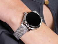 Zegarek srebrny Rubicon Bransoleta RNBE37SIBX05AX - duże 6
