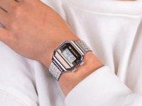 Zegarek srebrny sportowy  Damskie 2020136 bransoleta - duże 6