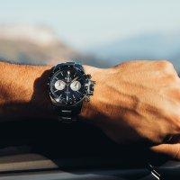 Zegarek srebrny sportowy  Engineer Hydrocarbon CM2198C-S1CJ-BK bransoleta - duże 7