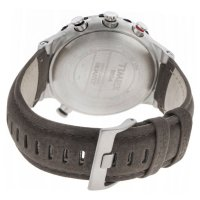 Timex T2N721 zegarek srebrny sportowy Intelligent Quartz pasek
