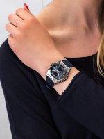 Zegarek srebrny sportowy Casio Baby-G MSG-C100-2AER pasek - duże 5