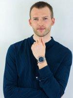 Zegarek srebrny sportowy Casio EDIFICE Momentum EFR-S567D-2AVUEF bransoleta - duże 4