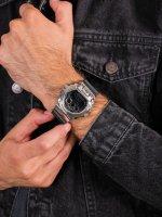 Zegarek srebrny sportowy Casio G-SHOCK Original GM-6900-1ER pasek - duże 5