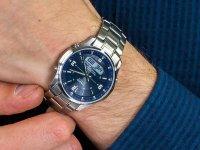 Zegarek srebrny sportowy Casio Lineage LCW-M100DSE-2AER bransoleta - duże 7