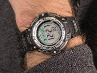 Casio SGW-100-1VEF zegarek srebrny sportowy Sportowe pasek