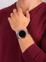 zegarek Fossil Smartwatch FTW4040 GEN 5 SMARTWATCH GARRETT HR SILVER męski z termometr Fossil Q