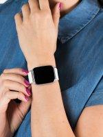 zegarek Garett 5903246286403 Smartwatch Garett Lady Viki biały damski z krokomierz Damskie