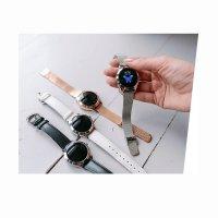 zegarek Garett 5903246287240 srebrny Damskie
