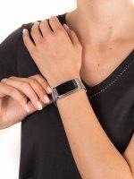 zegarek Garett 5903246287271 Smartwatch Garett Women Lucy RT srebrny damski z krokomierz Damskie