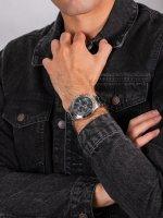 Zegarek srebrny sportowy Guess Bransoleta W0668G3 bransoleta - duże 5